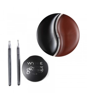 Eyeliner en crema 2en1 (Negro y marrón)