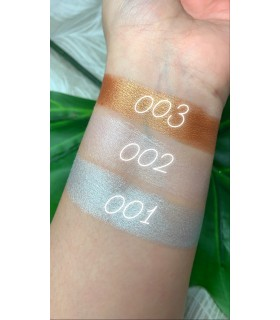 swatches highlighter en crema