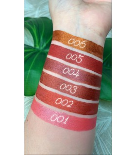 Swatches Labial líquido metalizado