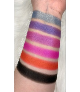 swatches sombras en godet holographic
